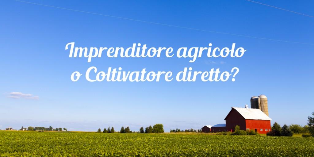 iap imprenditore agricolo professionale differenza