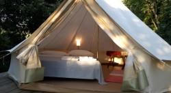 agricamping in tenda