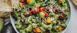 Food Borsa realazioni con investitori