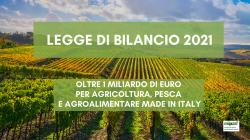 Legge_Bilancio 2021 Agricoltura