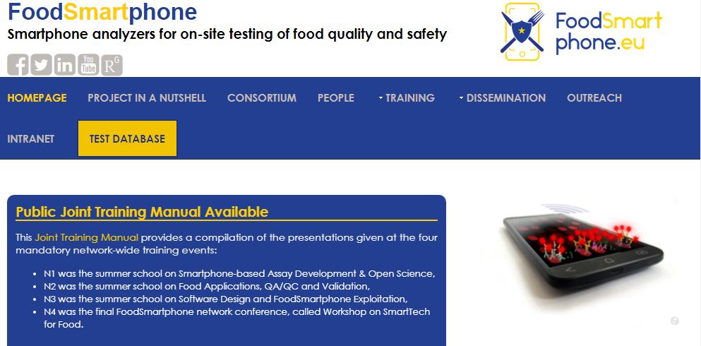 foodsmartphone sicurezza alimentare
